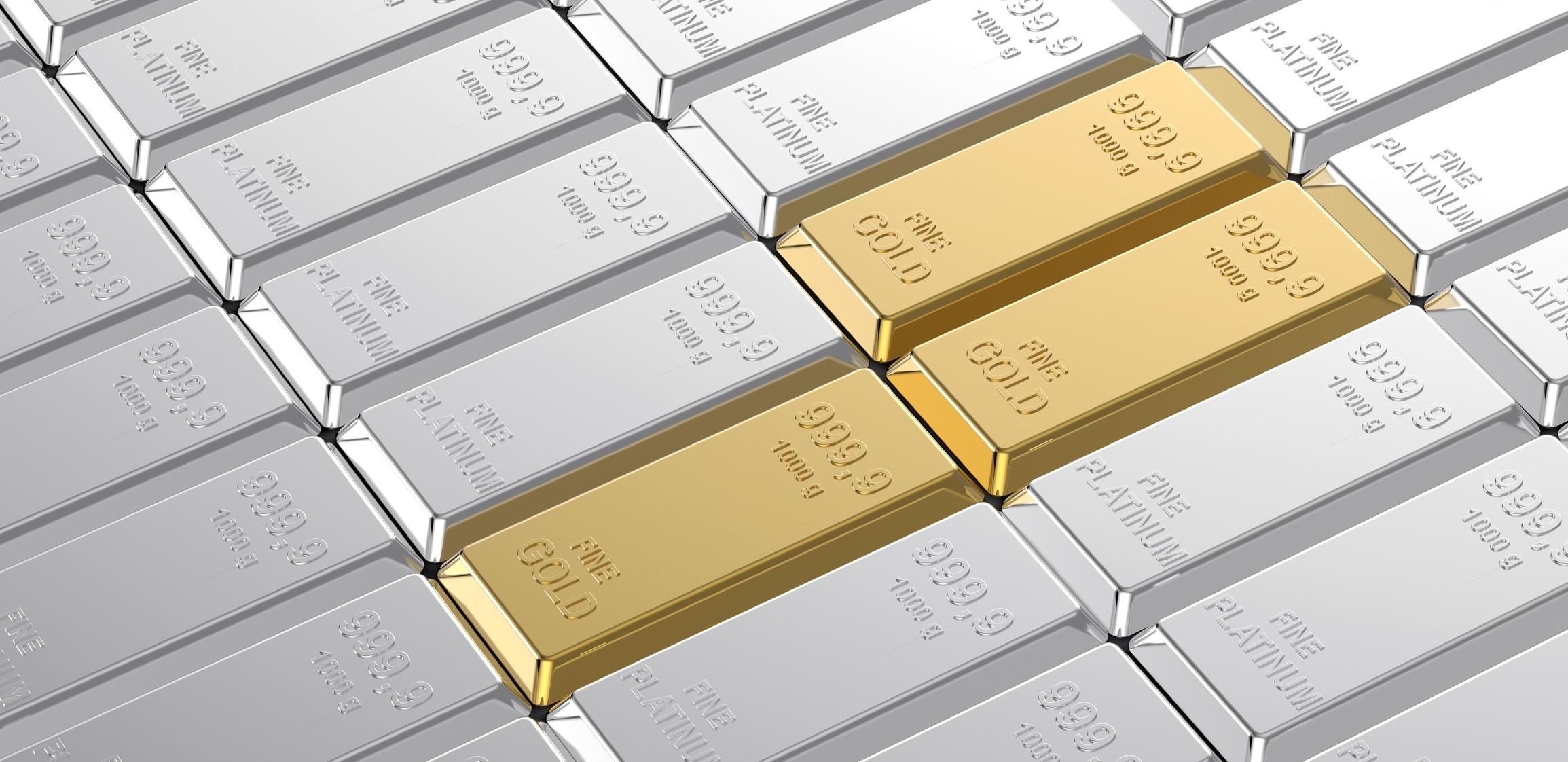 Золото и платина картинки