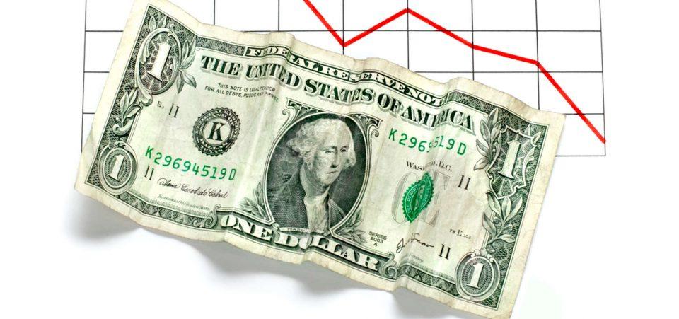 us dollar collapse