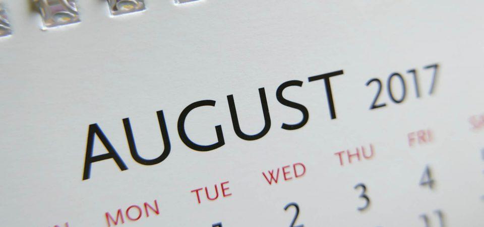 August Stock Market Crash