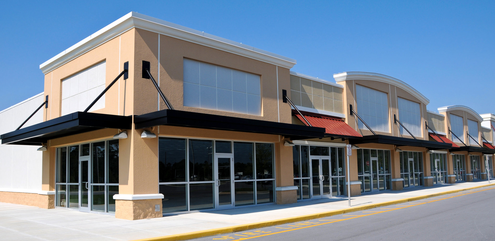 Facade Architecture Commercial Store Fronts