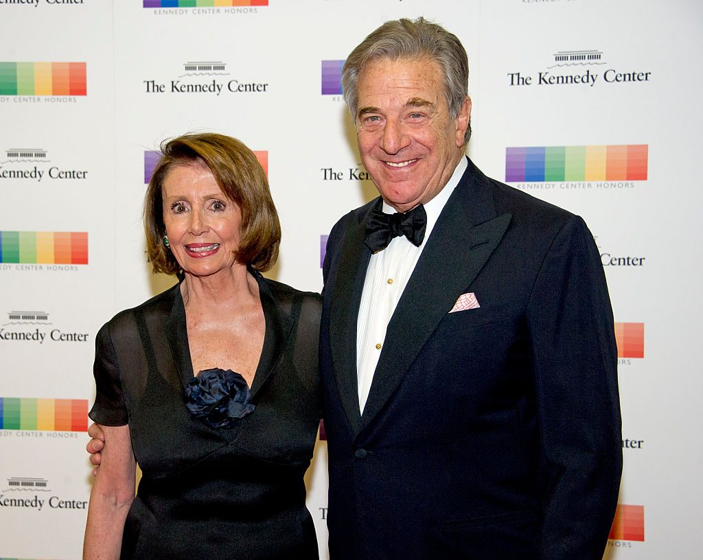 Nancy Pelosi With Paul Pelosi