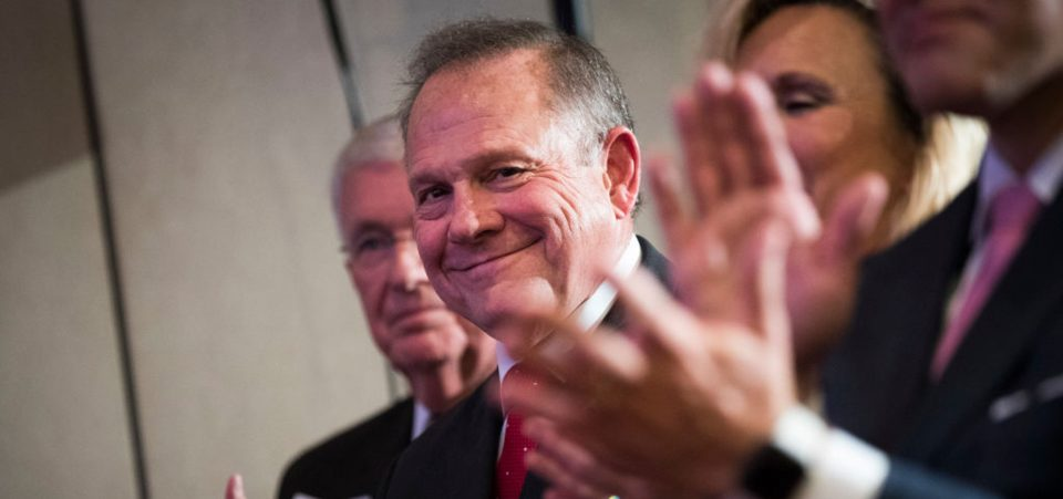 Alabama Voters Reguse to Abandon Roy Moore