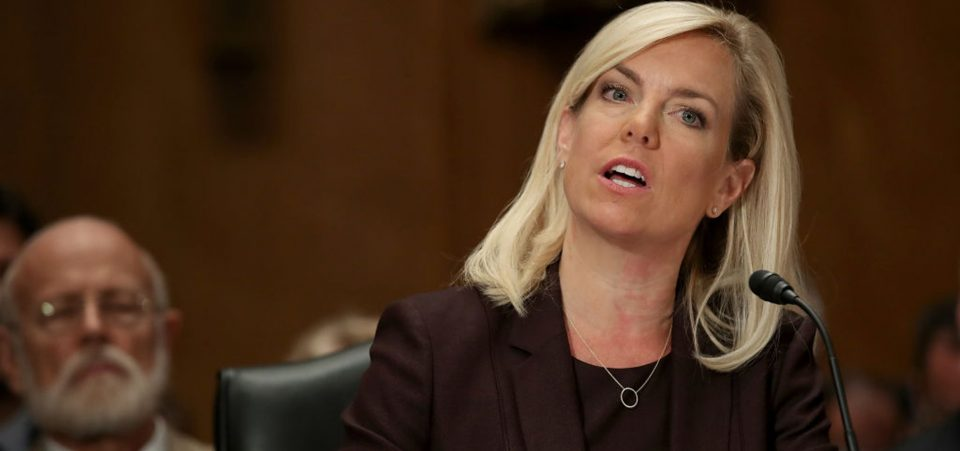 Kirstjen Nielsen, nominee to be the next Secretary of the Homeland Security Department