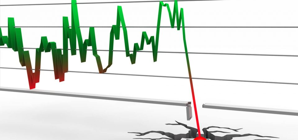 Stock market crash date in Sydney