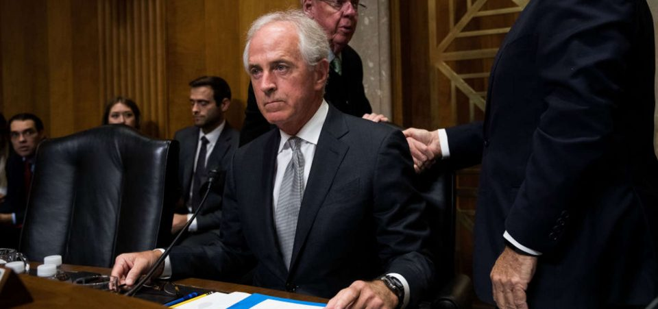 Bob Corker Flipped on GOP Tax Bill