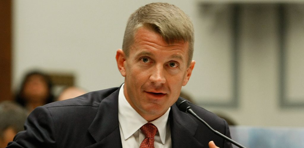 Erik Prince proposes Trump To Create An Anti Deep State Spy Network