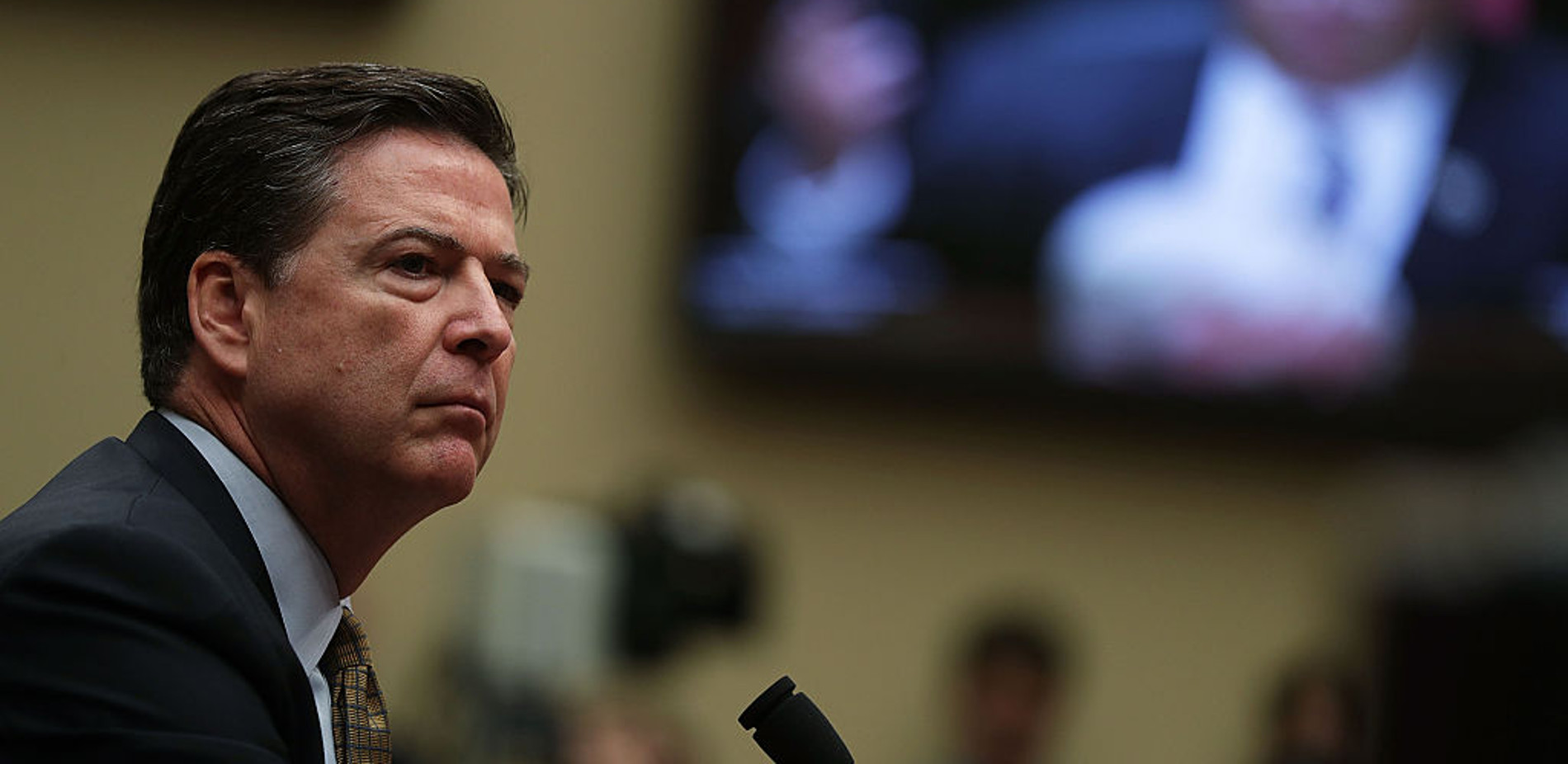 Former FBI Director Comey Testifying