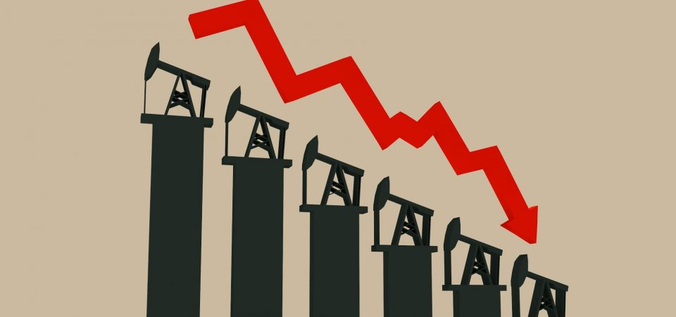 oil prices crash 2018