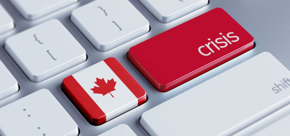 Canada on Verge of Economic Crisis?